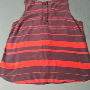 Tommy Hilfiger navy and red tank